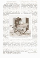 LABORATOIRE AMBULANT Pour L'ESSAI DES CABLES ELECTRIQUES    1890 - Non Classés