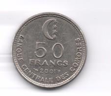 COMOROS / COMORES - 50 FRANCS 2001 KM16 - Comoros