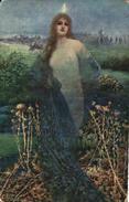 Tableau Peintre K - Fr Klimes, étoile Du Matin (femme - Paintings