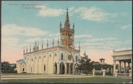 POS-465 CUBA POSTCARD. 1924. HABANA IGLESIA DEL VEDADO CHURCH - Cuba