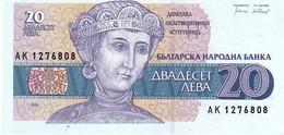 Bulgaria P.100   20 Lev 1991 Unc - Bulgaria