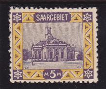 Sarre N° 66 Neuf **  - Voir Verso - - Zone Française