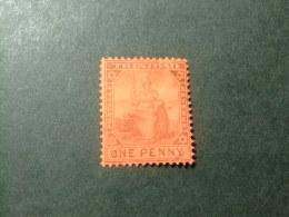 TRINIDAD TRINITE 1905 -07 BRITANIA Yvert 62 º FU Filigrane CA Multiple - Trinité & Tobago (...-1961)