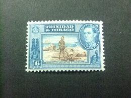 TRINIDAD & TOBAGO TRINITE ET TOBAGO 1938 - 44 - LAC D´ASPHALTE - GEORGE V - Yvert 142 * MN - Trinidad & Tobago (...-1961)