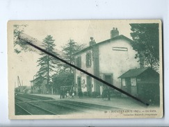 CPA  Abîmée - Bouguenais (L.-Inf.) - La Gare - Bouguenais
