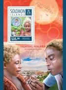 SOLOMON ISLANDS 2014 SHEET FIGHTING MALARIA Slm14520b - Salomon (Iles 1978-...)