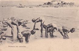 CPA  Animée Afrique Noire Pêcheurs De Cataractes - Cartes Postales