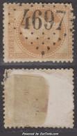 GC 4697 (Orbey, Haut-Rhin (66)), Cote 90€ - Storia Postale (Francobolli Sciolti)