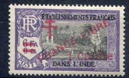 Ets Français Dans L'Inde              198 * - India (1892-1954)