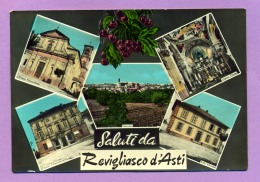 Saluti Da Revigliasco D'Asti - Asti