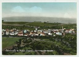 Casalvecchio Di Puglia (Foggia) - Panorama Da Levante - Anni '60 (acquerellata) - Foggia