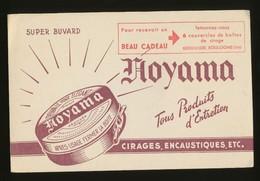 Buvard - NOYAMA - Cirages - Encaustiques - Blotters
