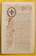 FIN XIXè : IMAGE DE MISSEL Desgodets & Gérard Pl 105 PRIERE DE Mme ELISABETH Communion 6 Juin 1901 / HOLY CARD / SANTINO - Devotion Images