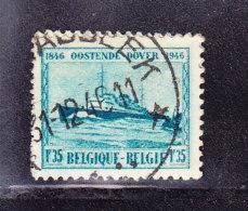 BELGIQUE  COB 725, OBL ETOILES, OPGLABEEK . (7A17) - Marcophilie