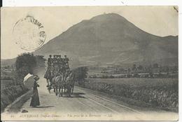 Puy De Dome Vue Prise De La Barraque - France