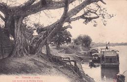 CPA Asie Indo-Chine TONKIN Viétry Les Bords De La Rivière Claire - Postcards