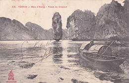 CPA Asie Indo-Chine TONKIN Baie D' Along Passe Du Crapeau - Non Classés