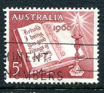 Australia 1960 Christmas Used - 1952-65 Elizabeth II : Pre-Decimals