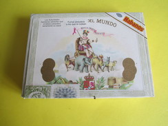 Boite De Cigare Vide Pour Collection/El Rey Del Mundo/Marqua Independiente/Habana/Vers 2010                 CIG36 - Altri