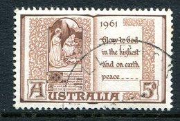 Australia 1961 Christmas Used - 1952-65 Elizabeth II : Pre-Decimals