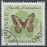 Guinea 1963. Scott #293 (U) Papilio Demodocus Butterfly * - Guinée (1958-...)