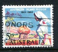 Australia 1962 50th Anniversary Of Australian Inland Mission Used - 1952-65 Elizabeth II : Pre-Decimals
