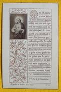 FIN XIXè IMAGE DE MISSEL Desgodets & Gérard Pl 112 TEXTE PRIERE + PHOTO ALBUMINE Communion 1896 / HOLY CARD / SANTINO110 - Devotion Images