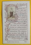 FIN XIXè IMAGE DE MISSEL Desgodets & Gérard Pl 97 TEXTE PRIERE + PHOTO ALBUMINE Communion 1896 / HOLY CARD / SANTINO110 - Devotion Images