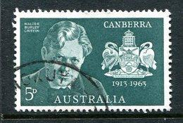Australia 1963 50th Anniversary Of Canberra Set Used - 1952-65 Elizabeth II : Pre-Decimals