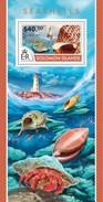 SOLOMON ISLANDS 2015 SHEET SEASHELLS SHELLS COQUILLAGES CONCHAS MUSCHELN CONCHIGLIE MARINE LIFE Slm15211b - Isole Salomone (1978-...)