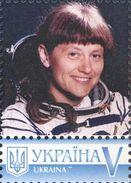 Ukraine 2017, Space, Russia Cosmonaut S. Savitskaya, 1v - Ukraine