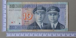 LITHUANIA 10 LITU 2007 -      (Nº18110) - Lituanie