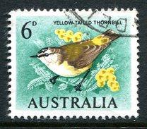 Australia 1964-65 Birds - 6d Thornbill - Emerald-green - Used (SG 363a) - 1952-65 Elizabeth II : Pre-Decimals