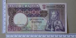 ANGOLA 500 ESCUDOS 1973 -      (Nº18131) - Angola