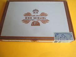 Boite De Cigare Vide Pour Collection/Don Miguel/N°2 Tubos/Intasa/Las Palmas/IlesCanaries/Espagne /Vers 2010       CIG34 - Sigaren - Toebehoren