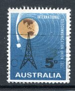 Australia 1965 ITU Centenary Used - 1952-65 Elizabeth II : Pre-Decimals
