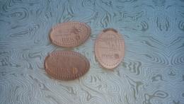 ¡¡NUEVO!! MUSEO NACIONAL DE CIENCIAS NATURALES MADRID - M063 - Moneda Elongada - Elongated Coin - Smashed Coin - Elongated Coins