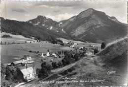 38 - RENCUREL - CPSM - CAMP CG MAISON FORESTIERE VUE SUR CHALIMONT - France