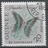 Guinea 1963. Scott #300 (U) Papilio Nireus Butterfly * - Guinée (1958-...)