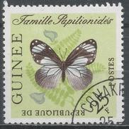 Guinea 1963. Scott #301 (U) Famille Papilionides Butterfly * - Guinée (1958-...)
