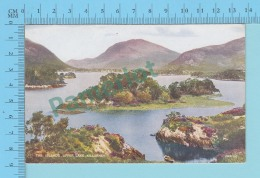 Ireland - Co. Kerry - Killarney, Upper Lake & Islands By Valentine & Sons -  2 Scans - Kerry