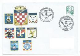 15690 - AVIATION - BAN LANVEOC POULMIC - JPO 2015 - ECUSSON S  DES FLOTTILLES Et ESCADRILLES - - Postmark Collection (Covers)