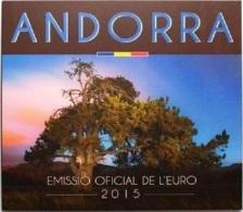 ANDORRA - Set Divisionale 8 Monete FDC 2015 - Andorra