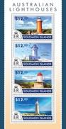 SOLOMON ISLANDS 2015 SHEET AUSTRALIAN LIGHTHOUSES PHARES FARI FAROS FAROIS Slm15210a - Solomoneilanden (1978-...)