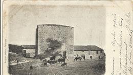 Cp Precurseur - Ruines  DE POUJOL LE CHATEAU   (att Bien Regarder ) 35 - Altri Comuni