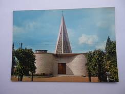 CPSM 80 - SOMME - LONGUEAU L' EGLISE ARCHITECTES ANDRIEU & GOGOIS - Longueau