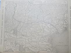 La Guerre  14-18 Carte Du Front Italien Italian War    Trevise Trente Oriler    Le Noel De Sammy - Old Paper