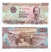 Viêt-Nam 2000 Dong 1988 (UNC) - Vietnam