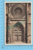 Nurnberb - Portal U. Rosette Au Der Lorenzkirche  Real Photo  -  2 Scans - Dresden