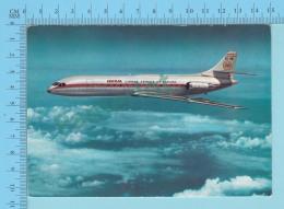 Avion  - Air Iberia, Caravelle X-R  86 Passager  -  2 Scans - 1946-....: Modern Era